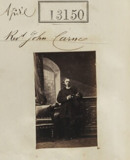 John James Carne, by Camille Silvy - NPG Ax62791