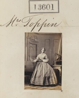 Mary Blanche Toppin (née Brathwaite), by Camille Silvy - NPG Ax63234