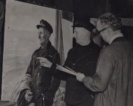 Henry George Blogg; Thomas Cantrell Dugdale, by Keystone Press Agency Ltd - NPG x184241