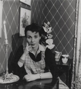 Claire Bloom, by Tom Blau, for  Camera Press: London: UK - NPG x184244