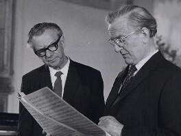 Benjamin Britten; Peter Pears, by BBC - NPG x184263