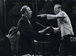Benjamin Britten; Peter Pears, by Erich Auerbach - NPG x184264