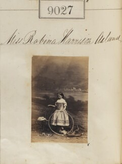 Robina Harrison Pigeon (née Acland), by Camille Silvy - NPG Ax58850