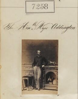 Hon. Charles John Addington, by Camille Silvy - NPG Ax57169