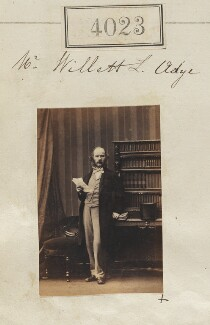 Willett Lawrence Adye, by Camille Silvy, 30 May 1861 - NPG Ax54038 - © National Portrait Gallery, London