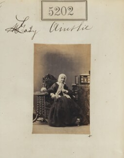 Elizabeth (née Wenger), Lady Ainslie, by Camille Silvy - NPG Ax55205