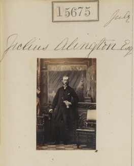 Julius Alington, by Camille Silvy - NPG Ax63607