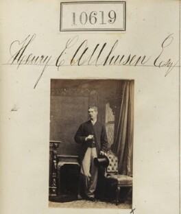 Henry Christian Allhusen, by Camille Silvy, 13 July 1862 - NPG Ax60333 - © National Portrait Gallery, London