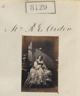 Mary Arden (née Finney), by Camille Silvy - NPG Ax57947