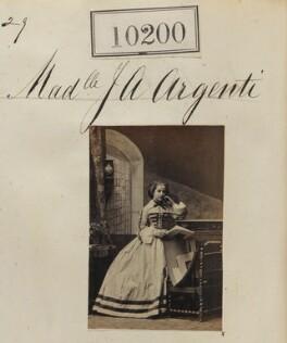 Julie Scaramanga (née Argenti), by Camille Silvy - NPG Ax59915