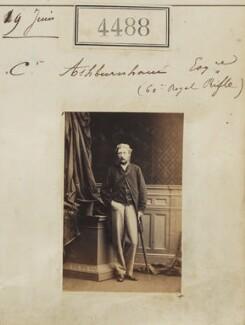 Sir Cromer Ashburnham, by Camille Silvy - NPG Ax54501