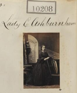 Lady Katherine Bannerman (née Ashburnham), by Camille Silvy - NPG Ax59923
