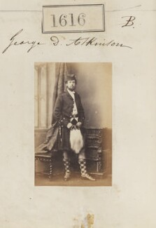 Possibly George Dixon Atkinson (later Atkinson-Clark), by Camille Silvy, 5 November 1860 - NPG Ax51010 - © National Portrait Gallery, London
