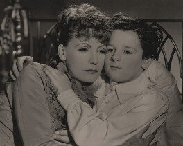 Greta Garbo and Freddie Bartholomew in 'Anna Karenina', by Unknown photographer - NPG x137840