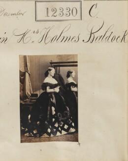 Probably Elizabeth Mary Baldock (née Corbet), by Camille Silvy - NPG Ax61984
