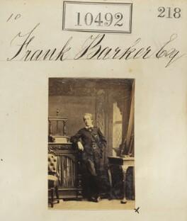 Frank Barker, by Camille Silvy - NPG Ax60206