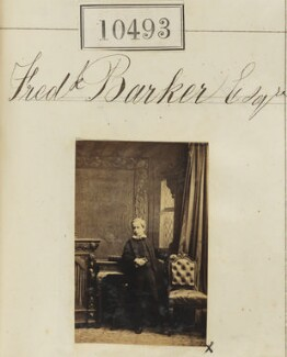 Frederick Barker, by Camille Silvy - NPG Ax60207