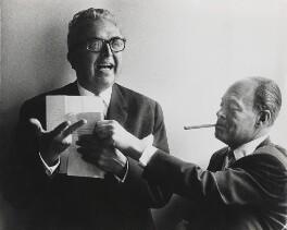 Harry Robert Fischer; Frank Lloyd (Franz Kurt Levai), by Lord Snowdon - NPG P1949