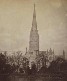 'Salisbury Cathedral', by Unknown photographer - NPG Ax137897