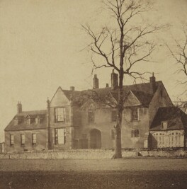 'In the Close - Salisbury, Canon Fisher's house', by Unknown photographer - NPG Ax137898