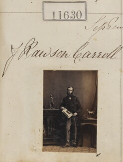 James Rawson Carroll, by Camille Silvy - NPG Ax61313