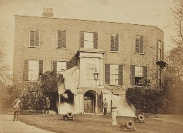 'Government House - Chatham', by Unknown photographer - NPG Ax137907