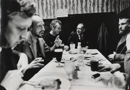 Camberwell School of Art (Anthony Fry, Henry Inlander, Patrick Procktor, Robert Medley, R.B. Kitaj), by Lord Snowdon - NPG P1967