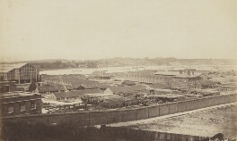 'Royal Dockyard - Chatham', by Unknown photographer - NPG Ax137917