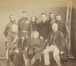Officers connected with the Crimean War, by Unknown photographer - NPG Ax137918