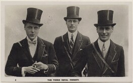 'The Three Royal Princes', published by The Photochrom Co Ltd - NPG x137843