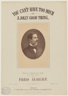 Fred Albert, printed by E. Hopkins, published by  Henri D'Alcorn, after  Unknown artist - NPG D42804