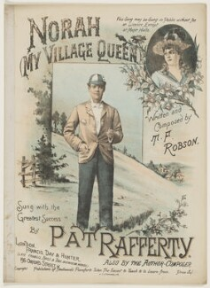 Pat Rafferty, printed by William T. Stannard, published by  Francis, Day & Hunter, after  Unknown artist - NPG D42808