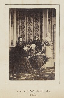 Royal mourning group, 1862, by William Bambridge - NPG Ax128903