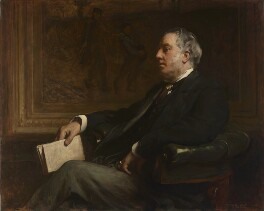 Sir William Agnew, 1st Bt, by Frank Holl - NPG 6991