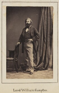 William Compton, 4th Marquess of Northampton, by Unknown photographer - NPG Ax128926