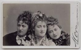 Jessie Catherine Biddulph Vokes; Victoria Rosaline Sarah Vokes; (Theodocia) Rosina Vokes, by José Maria Mora - NPG x137952