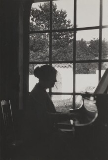 Dame Myra Hess, by Unknown photographer - NPG Ax183806