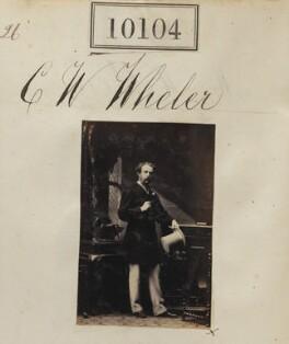 Charles Wheler Wheler, by Camille Silvy - NPG Ax59819