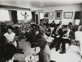 'The Book Party', by Lord Snowdon - NPG P1968