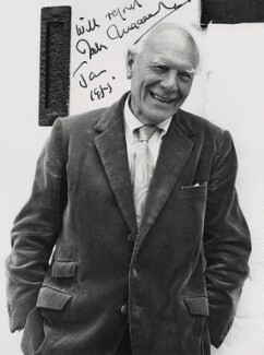 Malcolm Muggeridge, by Godfrey Argent - NPG x21433