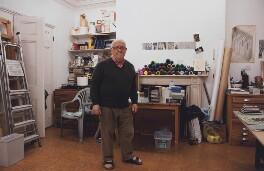 Bernard Cohen, by Gillian Vaux - NPG x137956