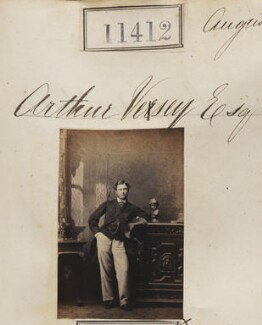 Arthur Cyril Vesey, by Camille Silvy - NPG Ax61098