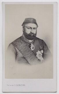 Abdul Aziz, by Émile Desmaisons, circa 1867 - NPG Ax138003 - © National Portrait Gallery, London