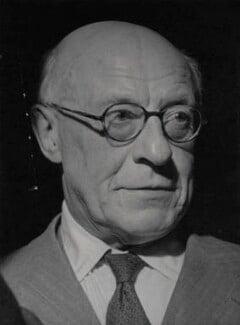 Sir Geoffrey Cust Faber, by Tom Blau, for  Camera Press: London: UK - NPG x184269