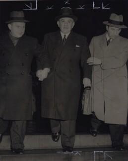 Sir Isaac Wolfson, 1st Bt, by Associated Press - NPG x184272