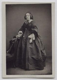 Anna Maria Hall (née Fielding), by John Watkins, published by  Mason & Co (Robert Hindry Mason) - NPG x138008