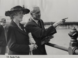 Dorothy Helen ('Doris') (née Slade), Lady Citrine; Walter McLennan Citrine, 1st Baron Citrine, by P.A. Reuter Photos Ltd - NPG x184288