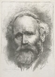 Keir Hardie, by Cosmo Rowe, after a photograph by  George Charles Beresford - NPG D42979