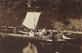 'Thames trip', by Unknown photographer - NPG Ax160619