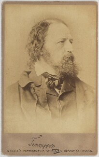 Alfred, Lord Tennyson, by John Jabez Edwin Mayall - NPG Ax160623
